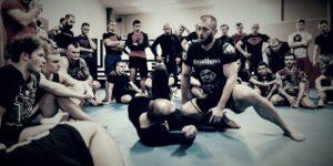 Seminarium szkoleniowe z Kamilem Umińskim w Grappling Kraków.